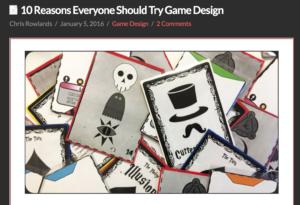 Motivos para diseñar un juego de mesa