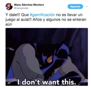 Tweet Manu Sanchez