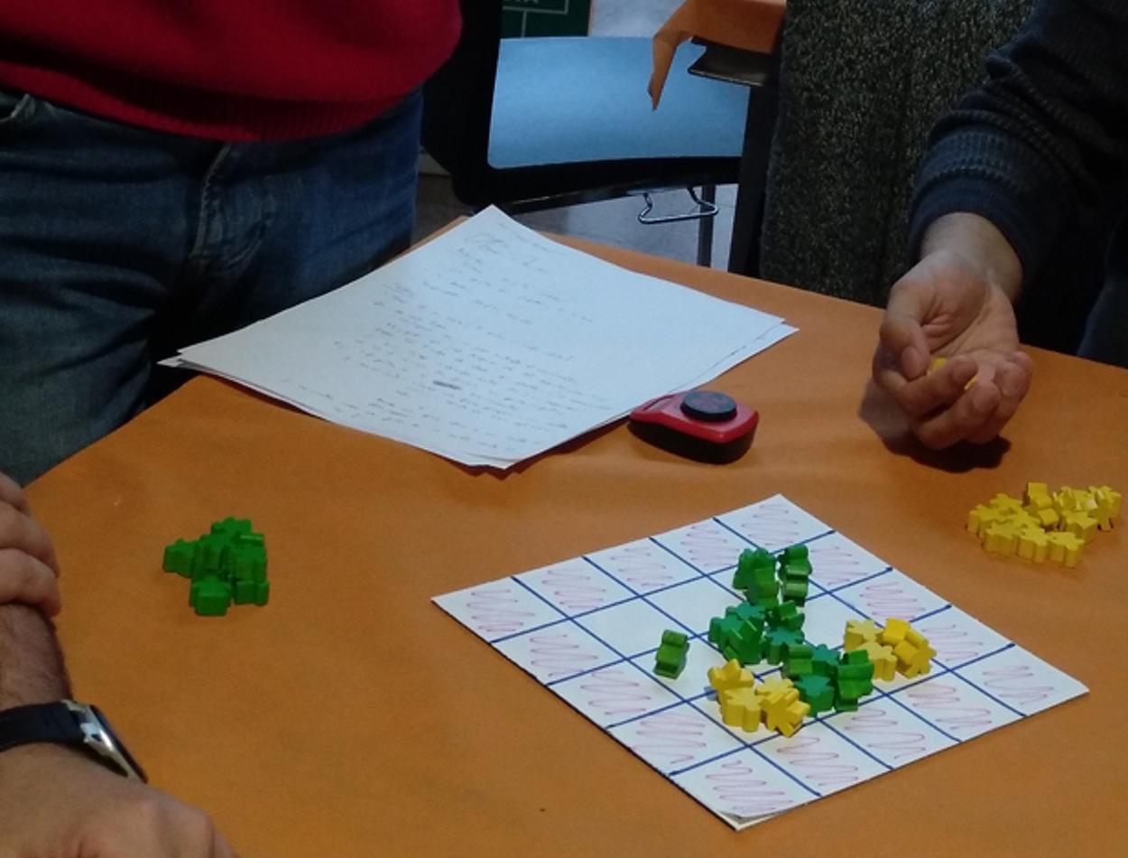 Taller creación juegos de mesa Ayudar Jugando | Gamificación & ABJ